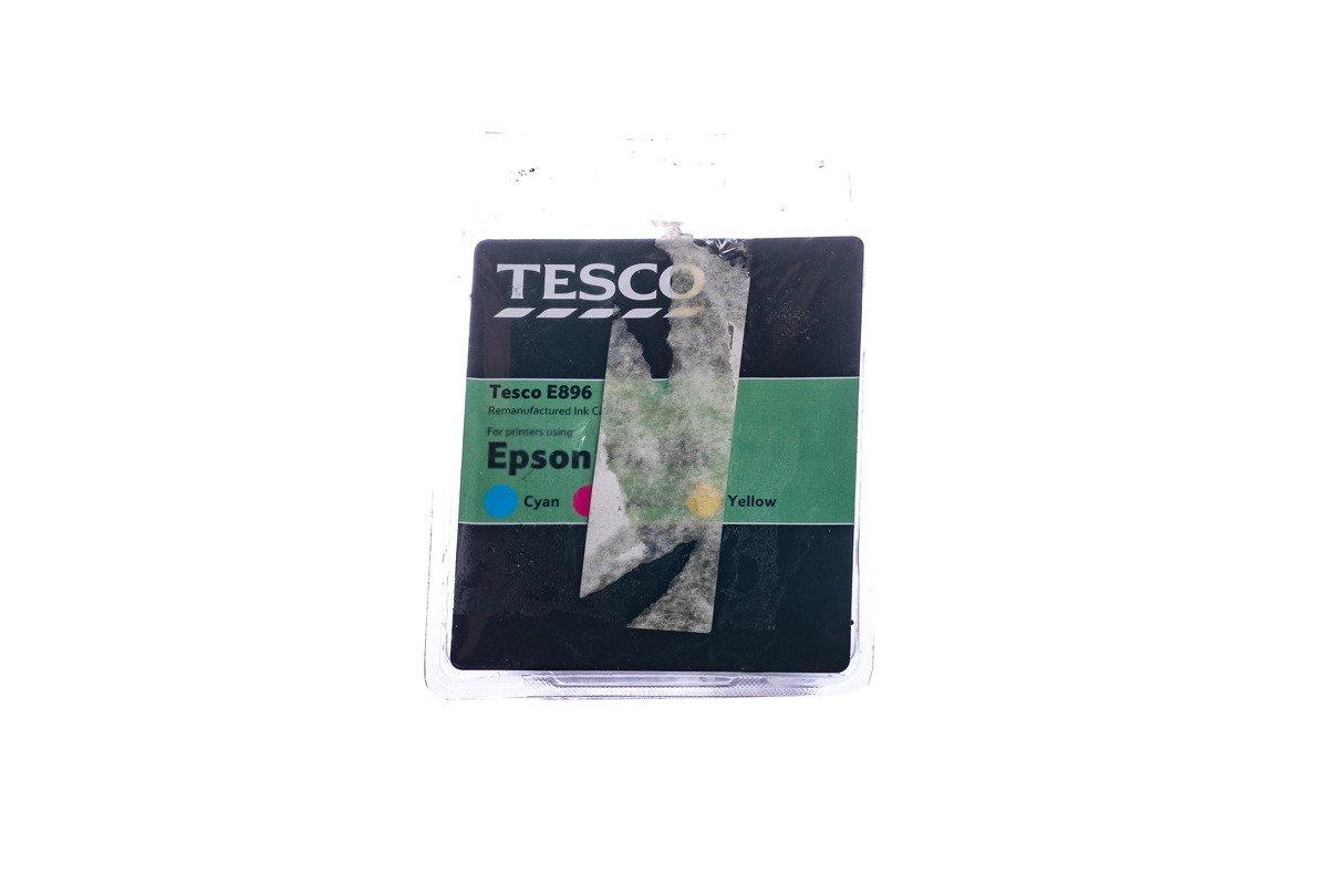 Remanufactured Ink cartridge Tesco Epson E0896 CMY