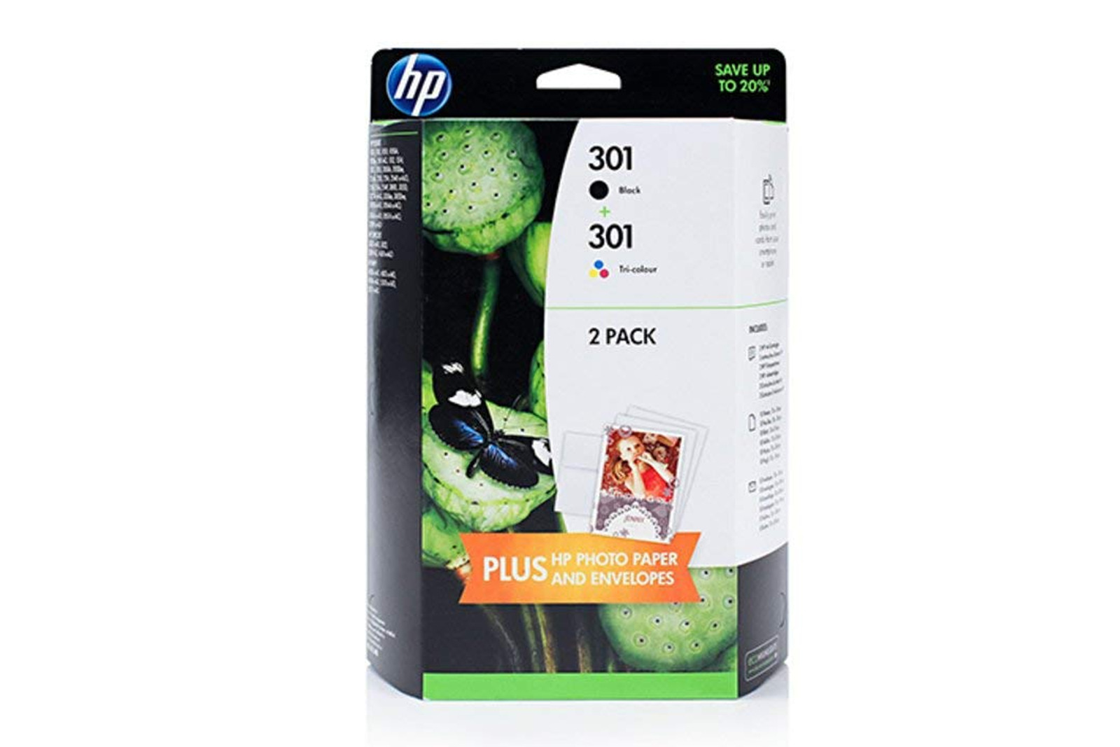 Genuine Ink Cartridge HP 301 J3M81AE Black/Tricolor