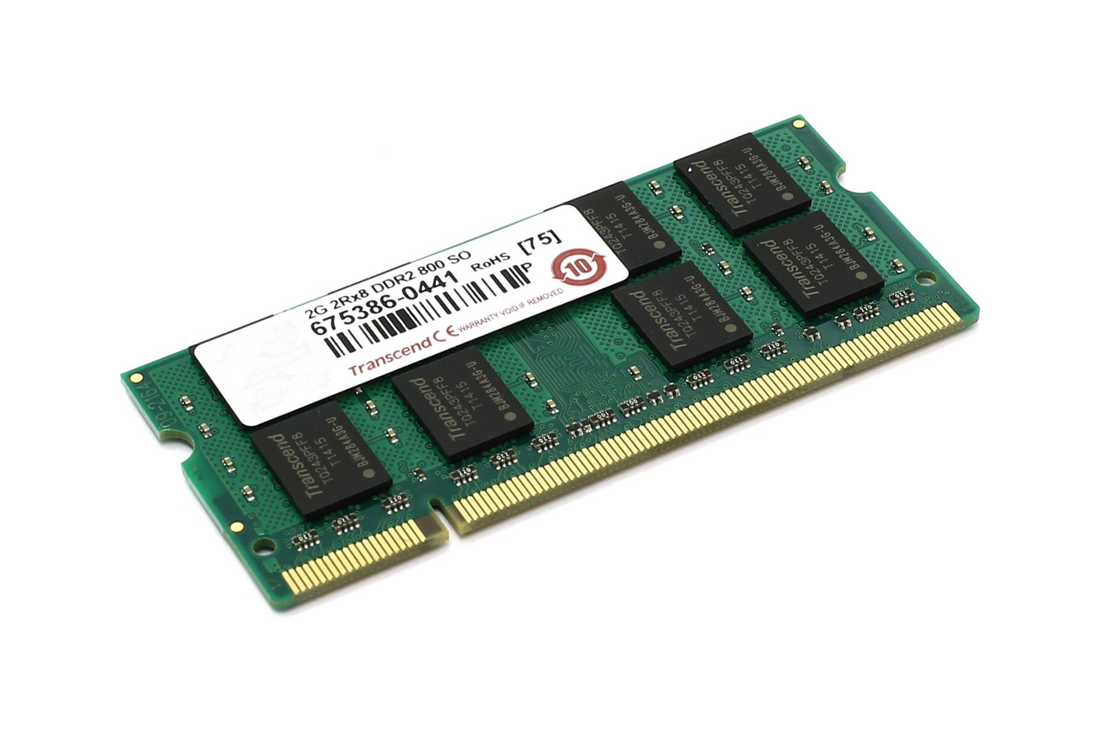 Memory RAM Transcend 2GB DDR2 JM800QSU-2G