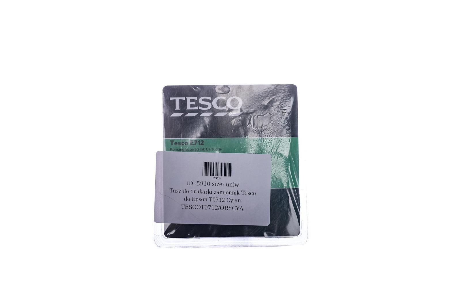 Remanufactured Ink cartridge Tesco Epson T0712 Cyan