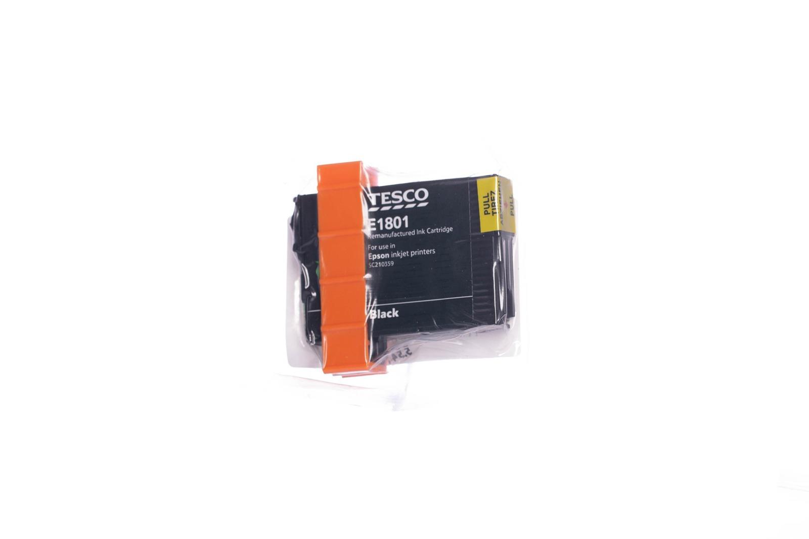 Remanufactured Ink cartridge Tesco Epson T1801 Black