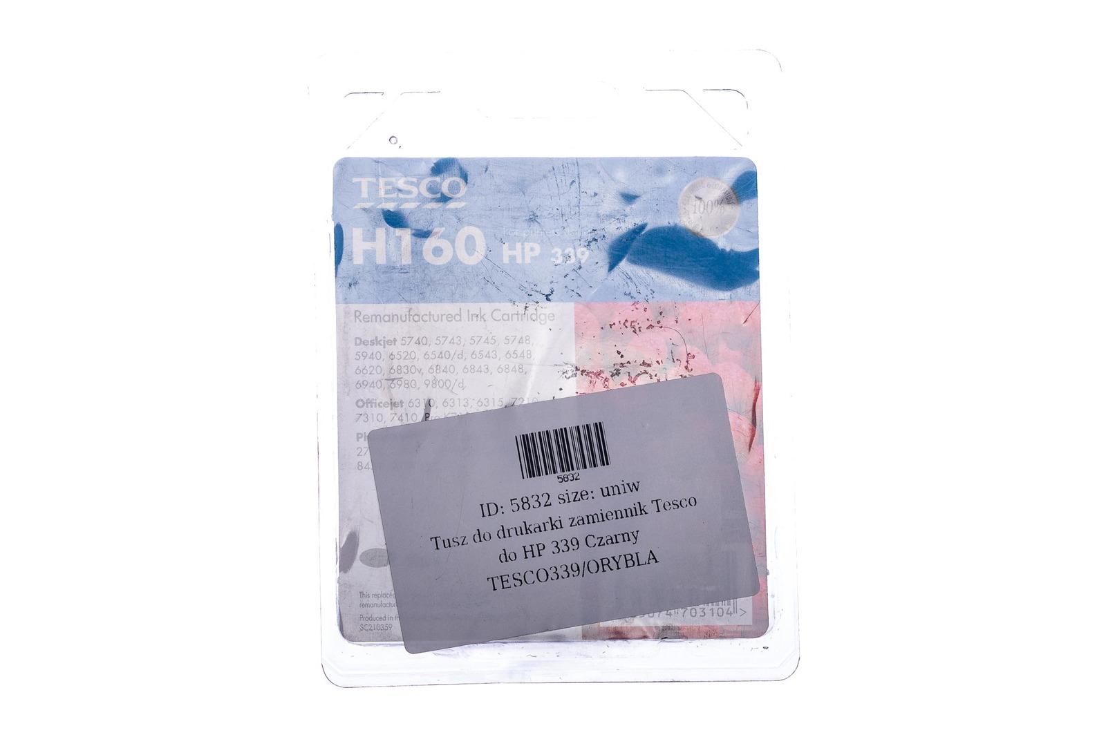 Remanufactured Ink cartridge Tesco HP 339 Black