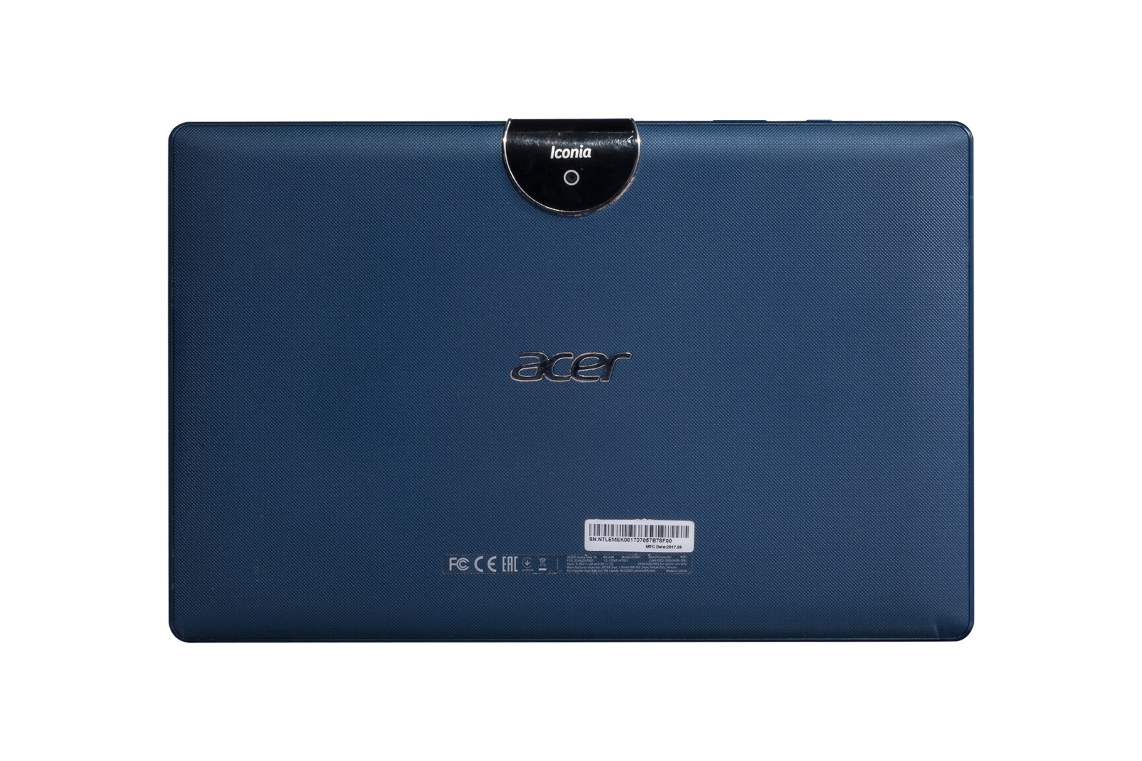 Tablet Acer Iconia One 10 16GB Wi-Fi Navy Blue Grade C