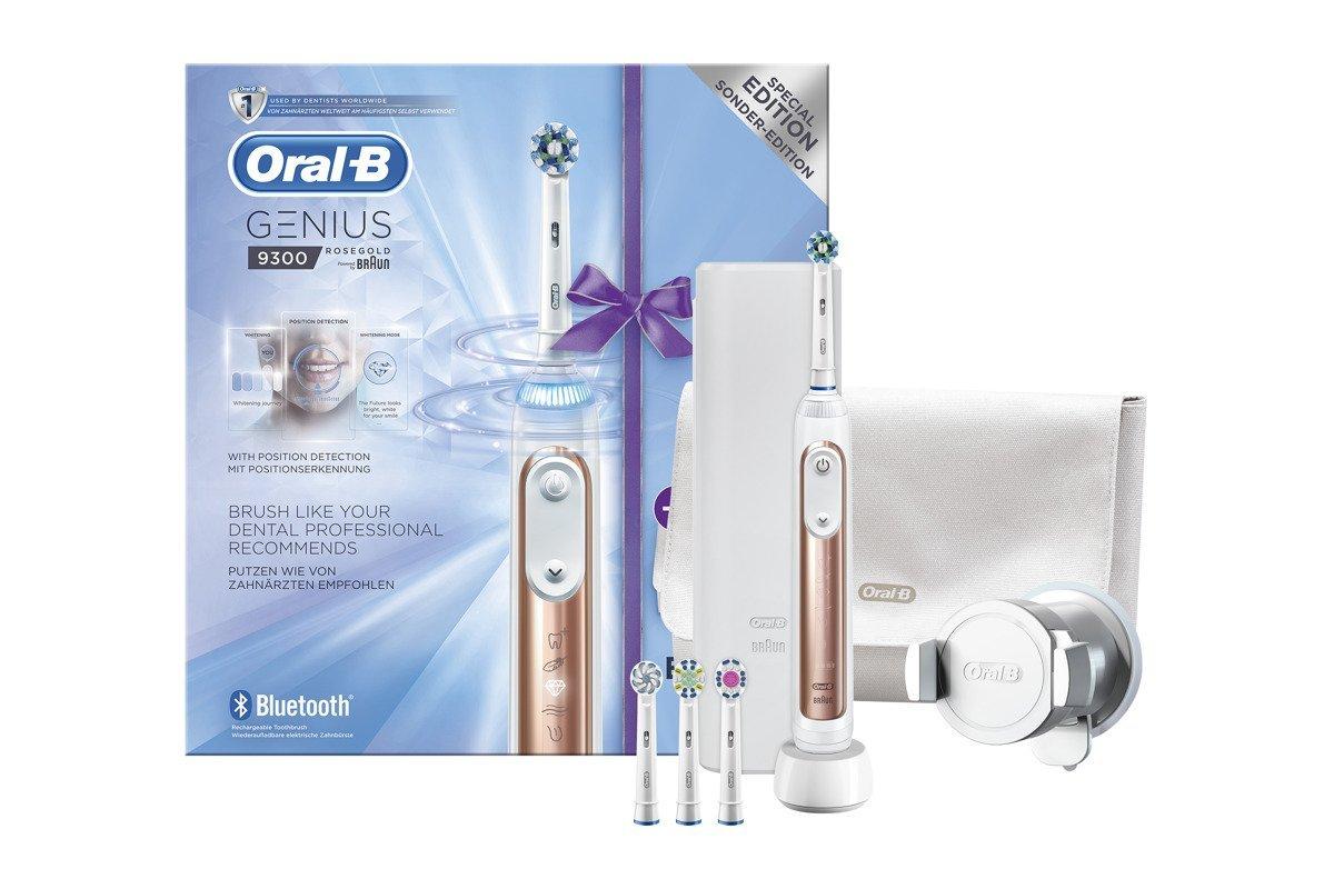 Braun Oral-B Zahnbürste Genius 9300 9000 Rose Gold Special Edition Set