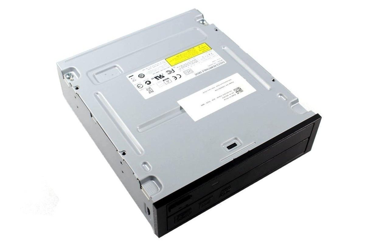 DVDRW Brenner SATA Model DH-24AWS DVD/CD Rewritable Drive Black