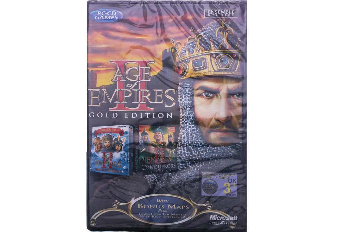 GAME PC Age Of Empires II Gold Edition (ENG) G11-00036
