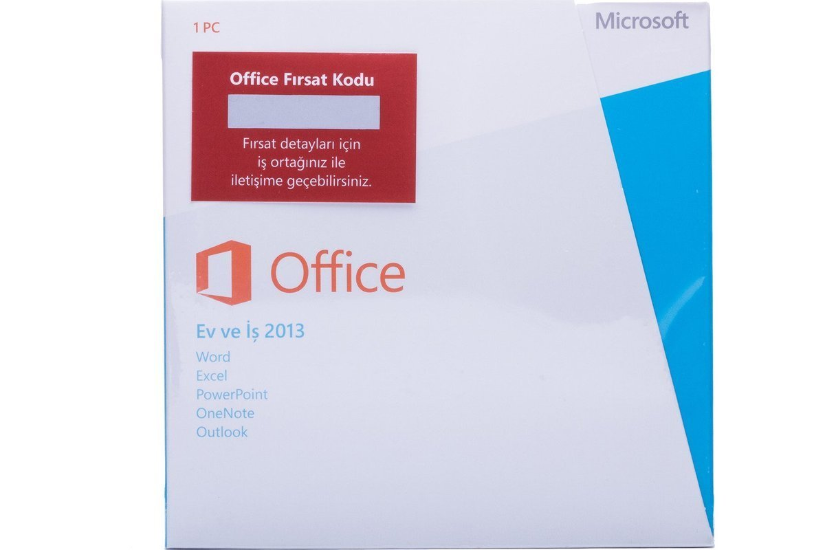Microsoft Office Home&Business 2013 T5D-01781 Turkish Middle East EM