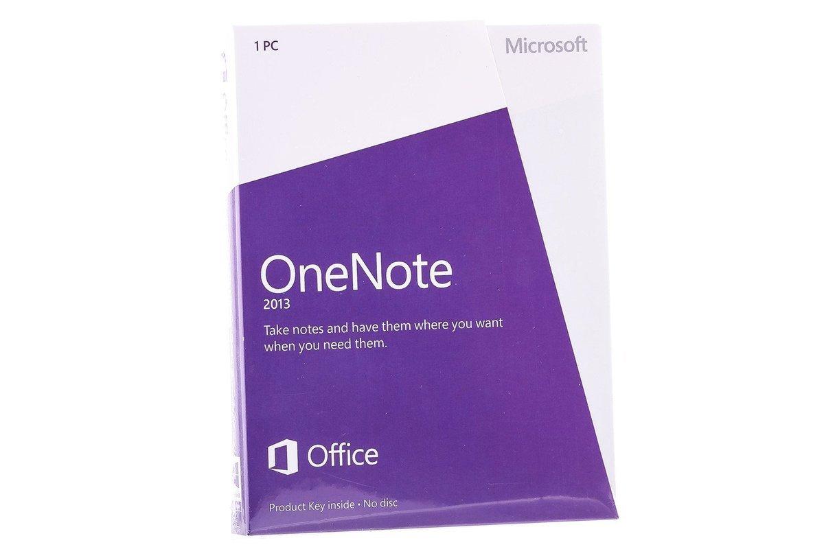 Neu OVP Microsoft OneNote 2013 32/64 Medialess S26-05028 Eurozone