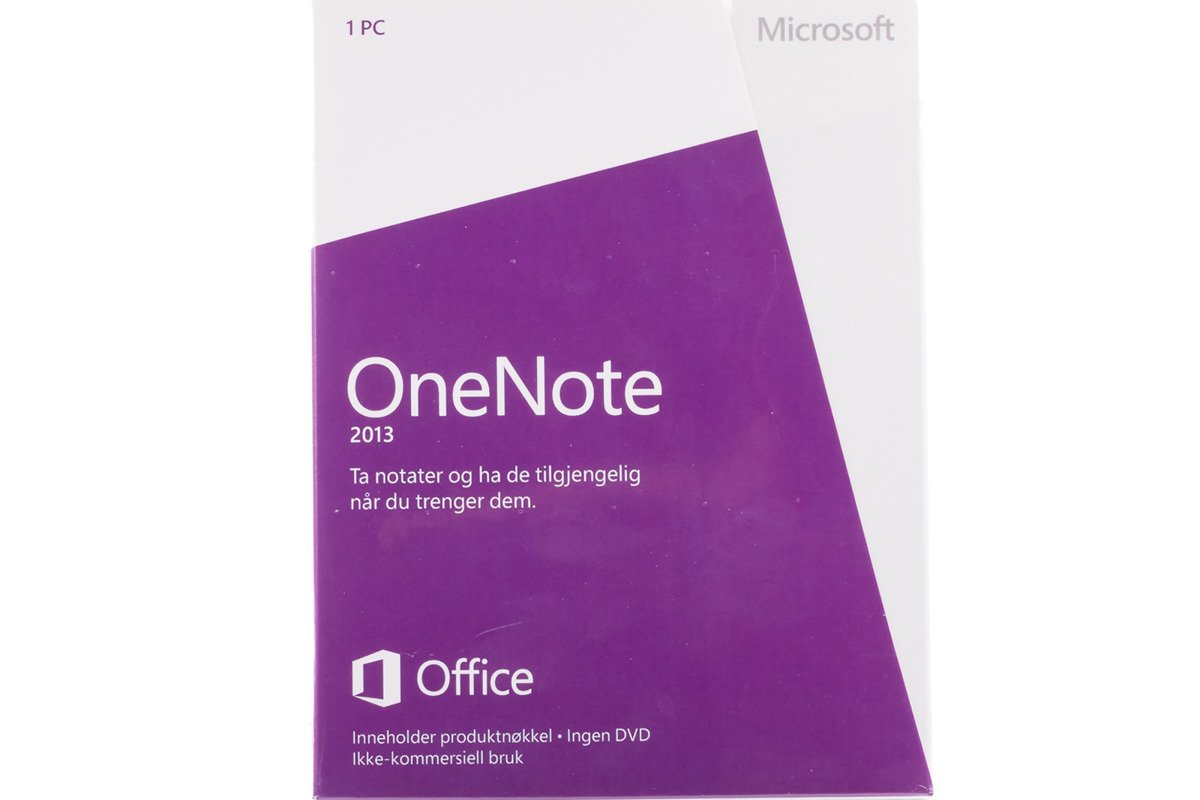 Neu OVP Original Microsoft OneNote 2013 S26-05113 Swedish Medialess Eurozone