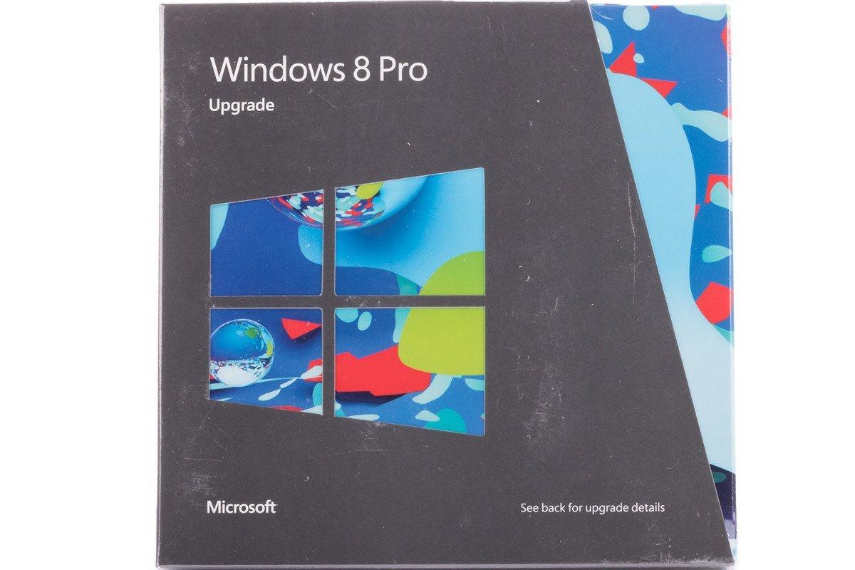 Neues Windows Professional 8 Upgrade für PC 3UR-00007 DVD 32/64 Bit Nicht-EU / EFTA-BOX