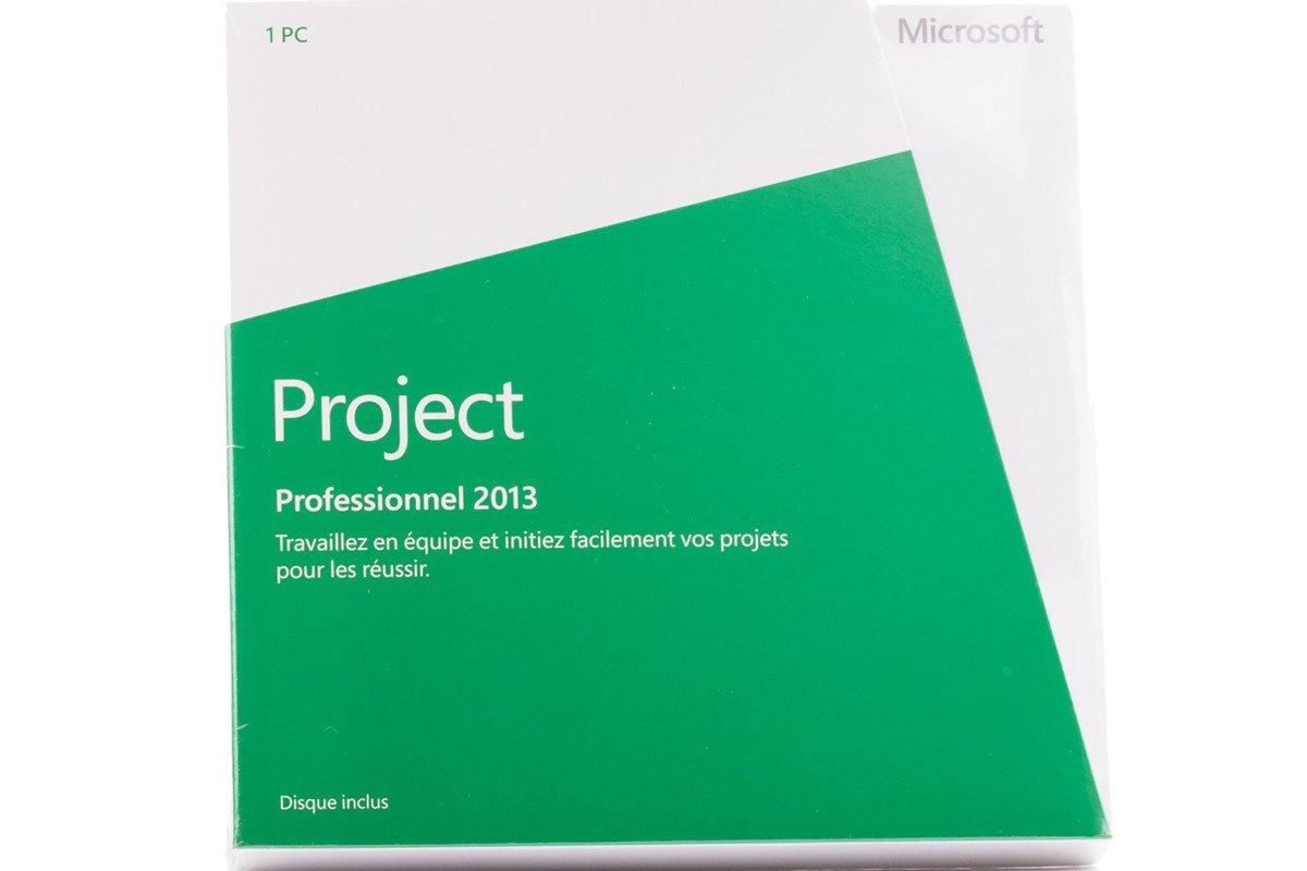 New Genuine Microsoft Project Professional 2013 H30-03684 Französisch Afrika / Karibik Nur DVD