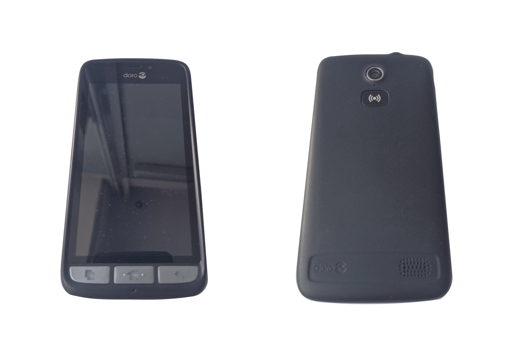 Smartphone Doro Liberto 8030 Steel Black DSB-0010 Damaged / Faulty