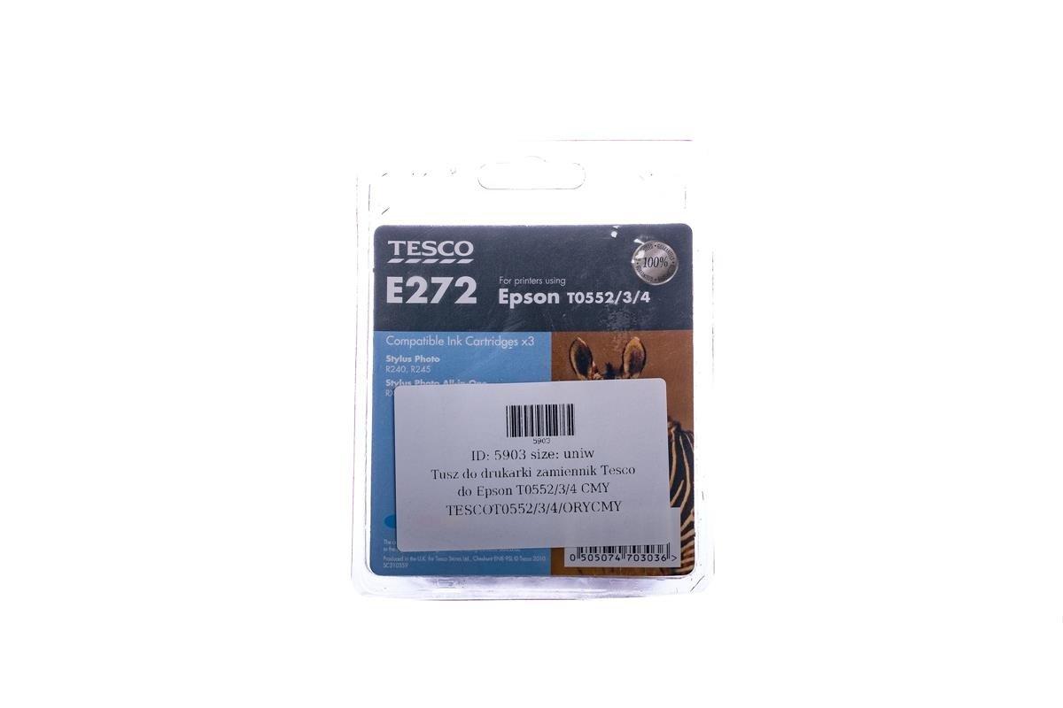 Tesco Tintenpatronen remanufactured Epson T0552/3/4 Cyan, Magenta, Gelb