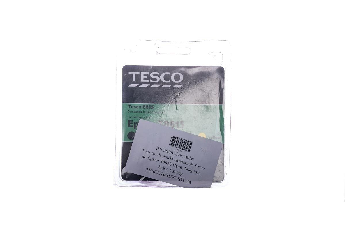 Tesco Tintenpatronen remanufactured Epson T0615 Cyan, Magenta, Gelb, Schwarz