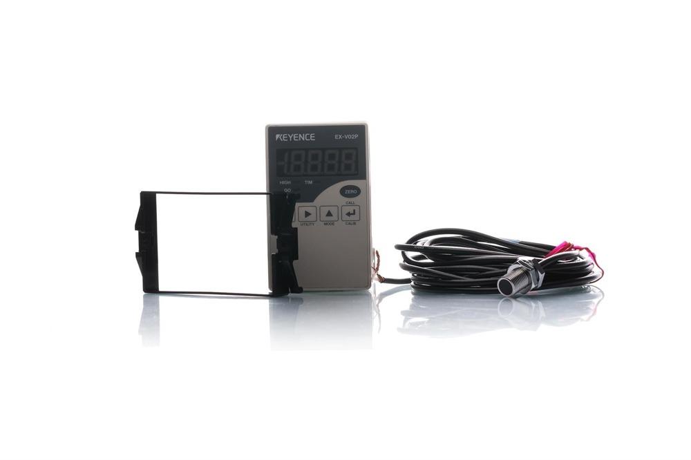 Keyence Verstärkereinheit PNP mit Sensorkopf EX-V02P / EX-110V