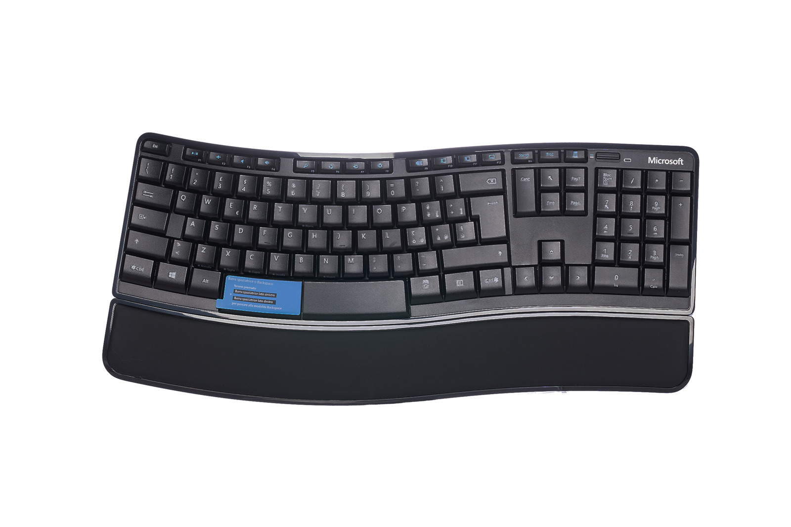Microsoft Sculpt Comfort (Italienisch) Tastatur V5S-00009 QWERTY