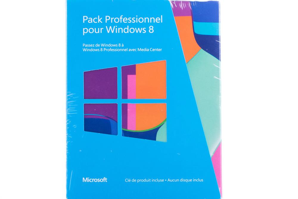 Neu OVP Windows Professional 8 Upgrade PC 5VR-00018 KEY 32/64 Bit Eurozone BOX