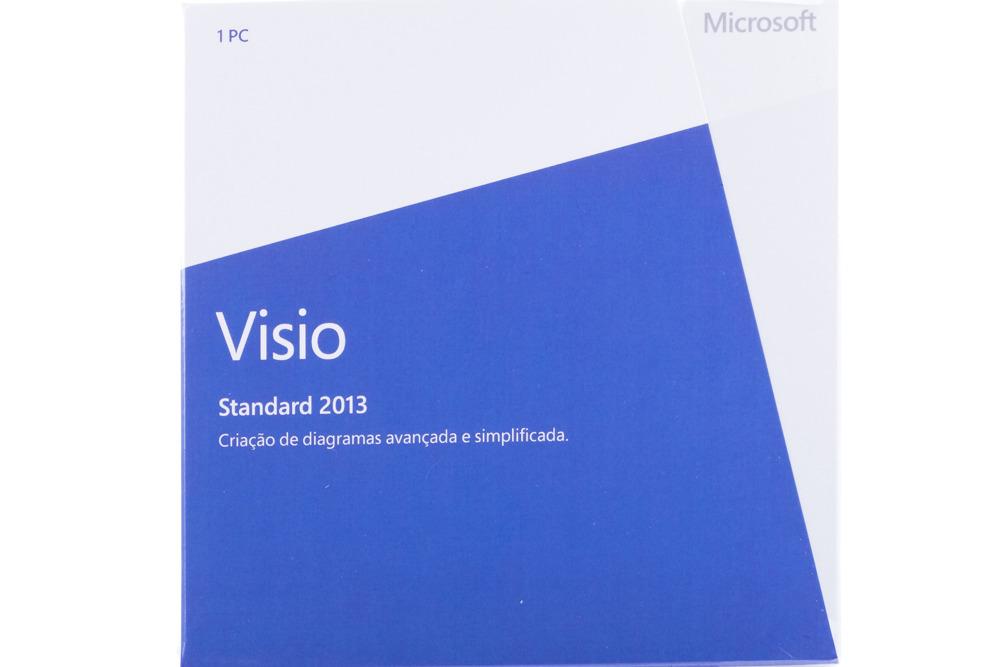 New Genuine Microsoft Visio Standard 2013 D86-04923 Portugiesisch Afrika Nur BOX