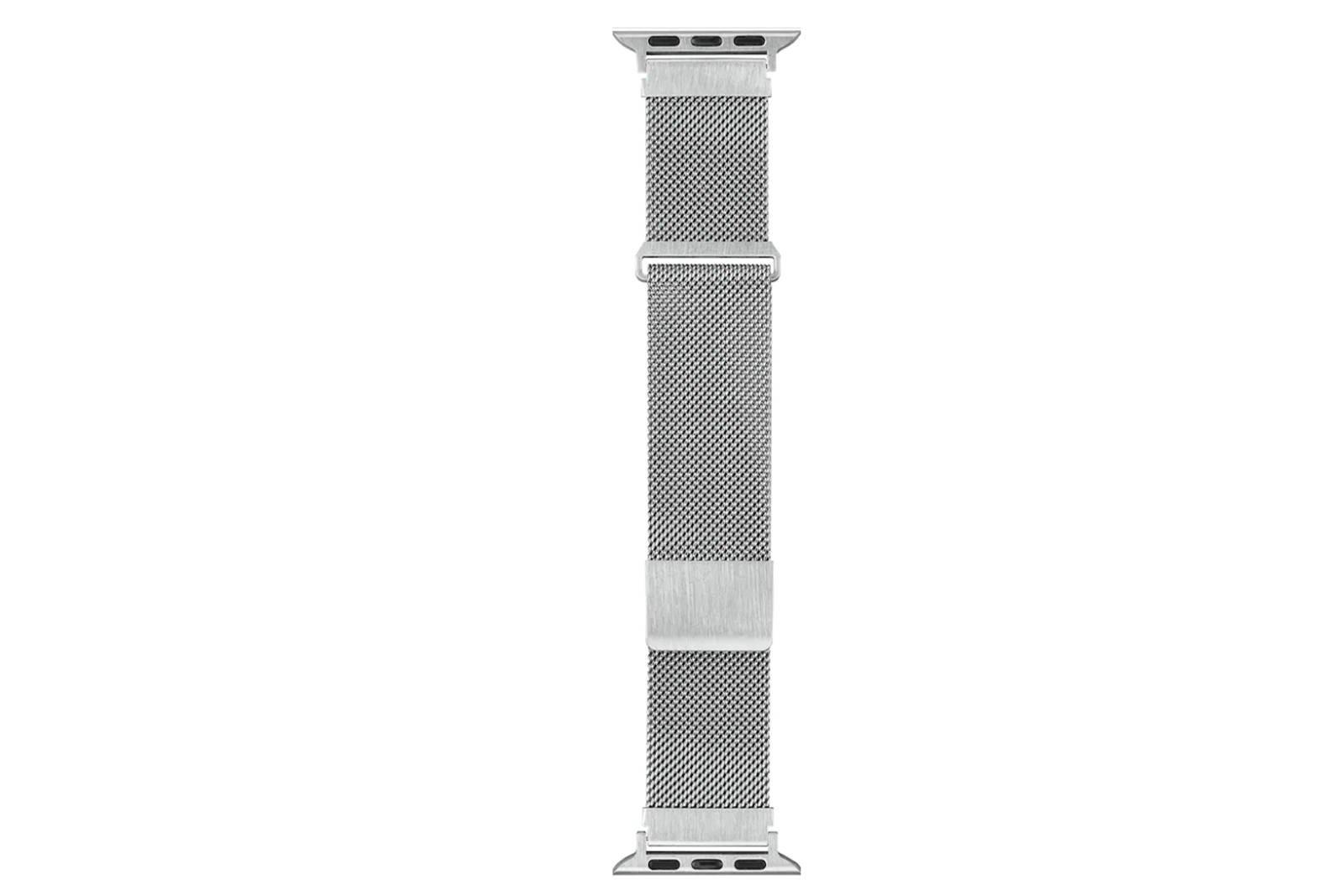Sandstrøm Netzgurt für Apple Watch 38/40mm Silber
