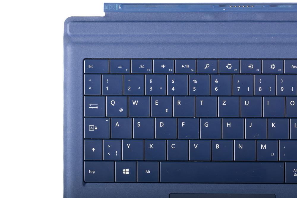 Tastatur Microsoft Surface Type Cover Pro 3 Dunkelblau QWERTZ Deutsche Grade B