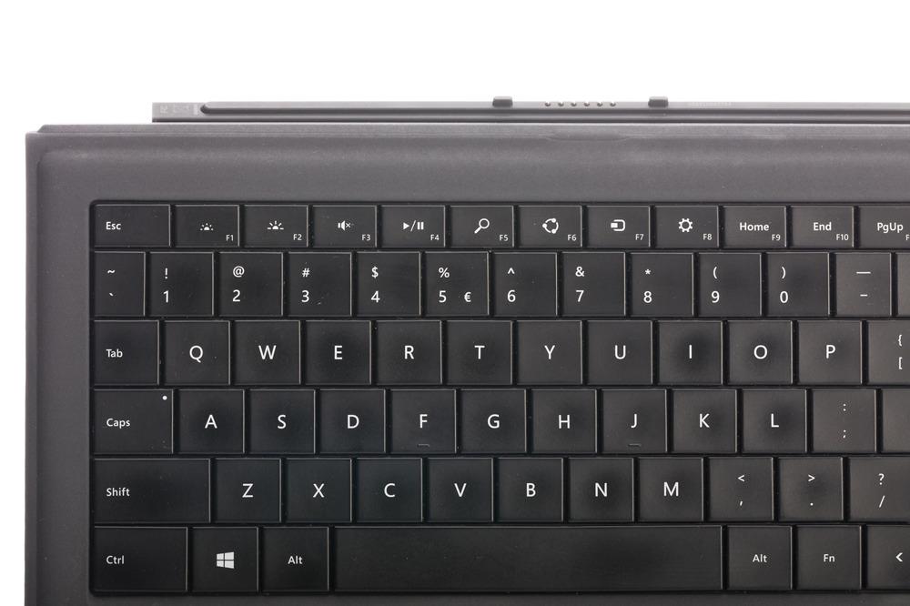 Tastatur Microsoft Surface Type Cover Pro 3 Schwarz QWERTY (US/UK104) Grade B