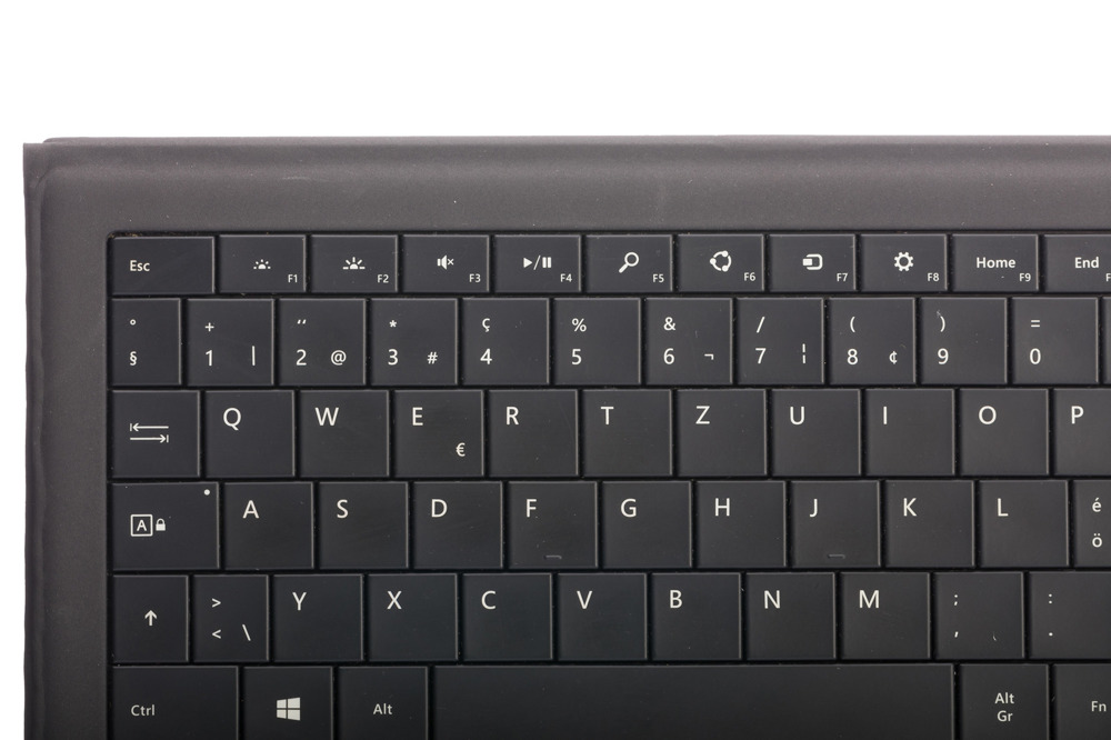 Tastatur Microsoft Surface Type Cover Pro 3 Schwarz QWERTZ Swiss Grade B