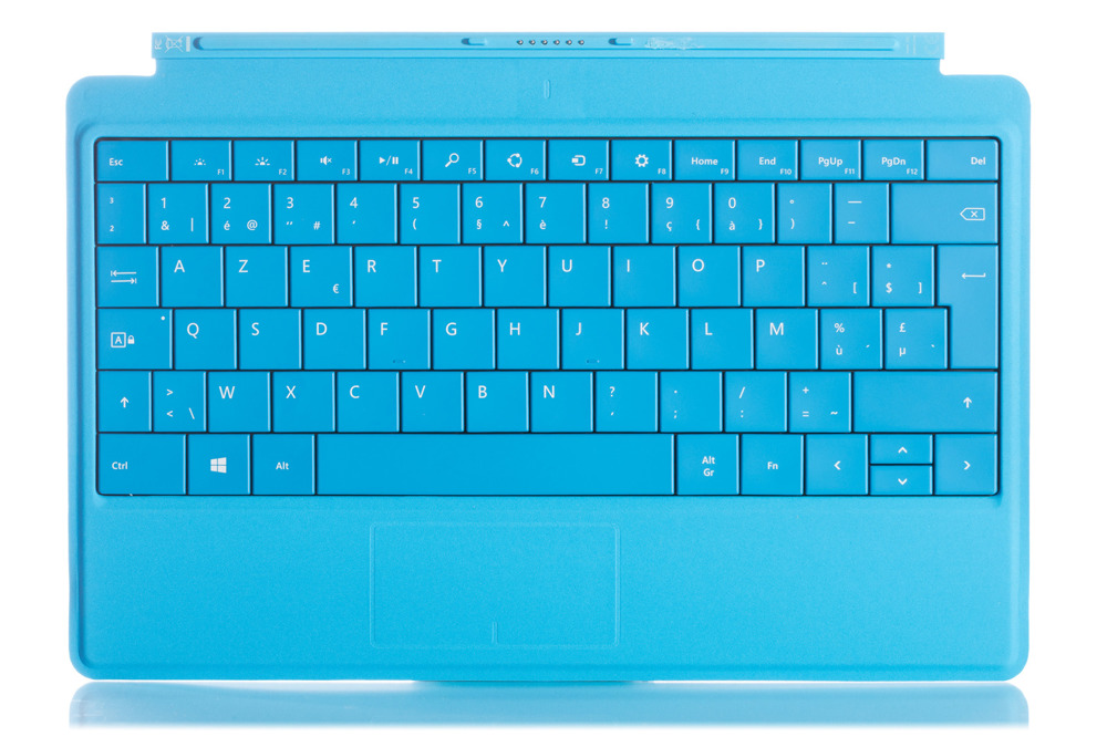 Tastatur Surface Type Cover 2 Cyan Grade A (belgier)