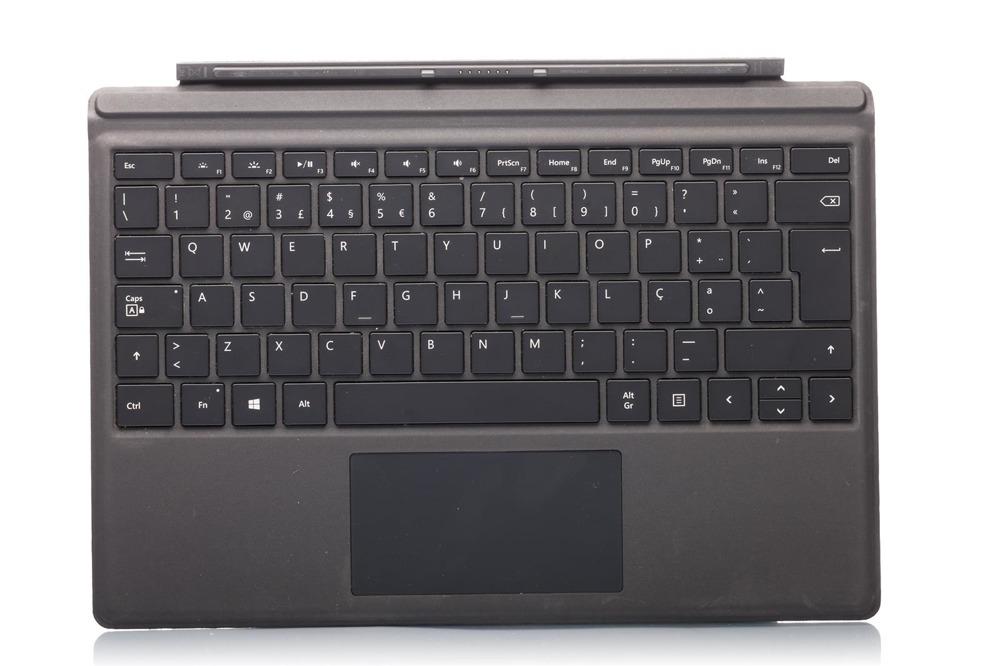 Tastatur Surface Type Cover Pro 4 Schwarz Grade B (portugiesisch)